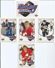 Brett Hull  91/92 Upper Deck  Brett Hull Hockey Heroes  10-card Set
