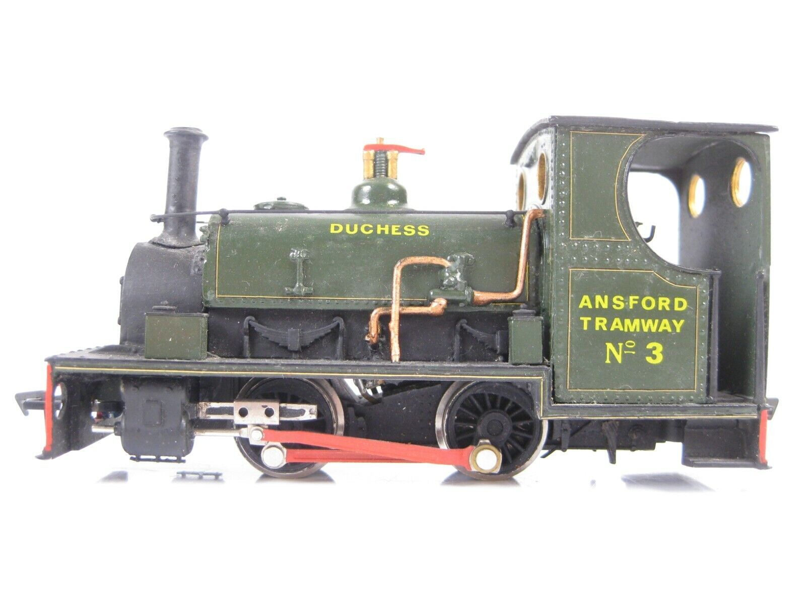 KIT BUILT OO O NARROW GAUGE 0-4-0 'ANSFORD TRAMWAY NO.3' DUCHESS