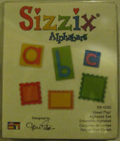 Vowel Play Alphabet Set, Die-cutting Sizzix - New, 38-1092
