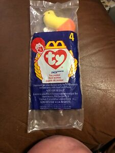 McDonald/'s Special Issue 1998 Ty teenie Beanie Babies INCH the INCH WORM #4