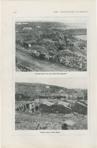 1916 WW1 Print West Beach Two Days Before Evacuation