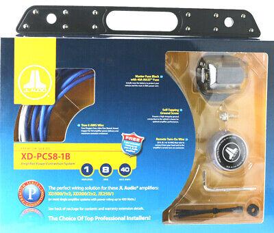 JL Audio XD-PCS8-1B Car Amplifier Wire Kit 8 gauge AWG Power ... on fi audio wiring, audiobahn wiring, fender wiring, pioneer wiring, ma audio wiring, bosch wiring,