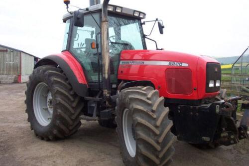 Manuales De Massey Ferguson Tractor taller serie 8200