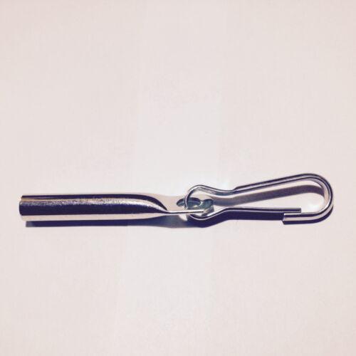 1 x Seilendverschluss für 8 mm mit Simplexhaken Planenseil Anhänger Plane