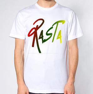 Rasta T-Shirt Rastafari Top Reggae Tee