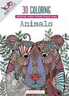 3D Coloring Animals by Thunder Bay Press (Paperback / softback, 2015)