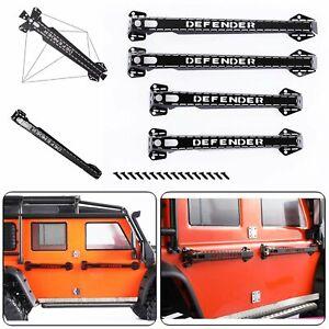 4pcs-Metal-Door-Handles-Decor-Parts-For-1-10-Traxxas-TRX4-D90-D110-Defender-RC
