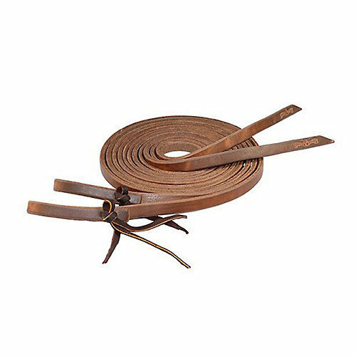 Circle Y Harness Leather 7ft Split Reins