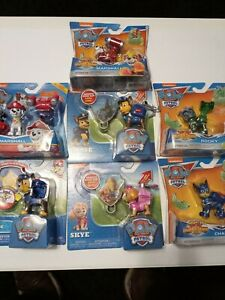 PAW-PATROL-Extendable-Hook-Badge-Clips-and-Mighty-Pups-Super-Paws-SET-OF-7
