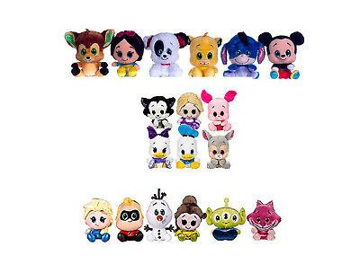 "Mickey Bambi Simba Eeyore Patch Elsa Daisy Disney Posh Paws 6"" Disney Glitzi Plush"