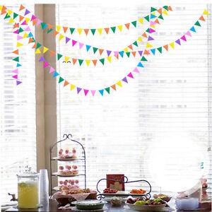 4M-Multi-color-Flags-Bunting-Banner-Garland-Wedding-Birthday-Party-School-Decor