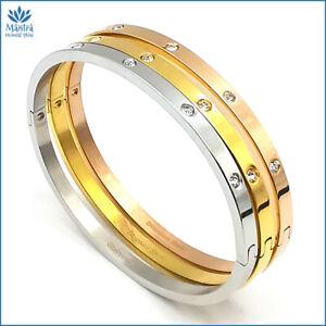 Bracciale-rigido-da-donna-in-acciaio-inox-con-zirconi-per-braccialetto-argento-a