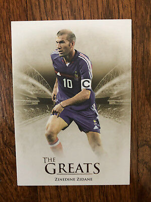 2014 Futera Unique Greats Football Soccer Card France THIERRY HENRY Mint