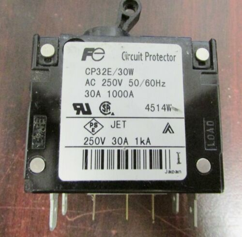 FUJI ELECTRIC 30 Amp Circuit Breaker CP32E//30W CP32E 30W