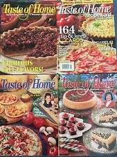 Taste of Home Lot of 4 Magazines