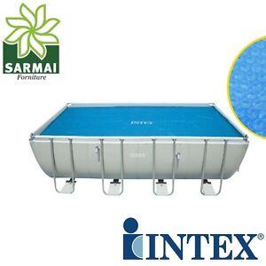 Telo termico per piscina intex copripiscina copri piscina frame cm 732 x 366 ebay - Telo copri piscina ...