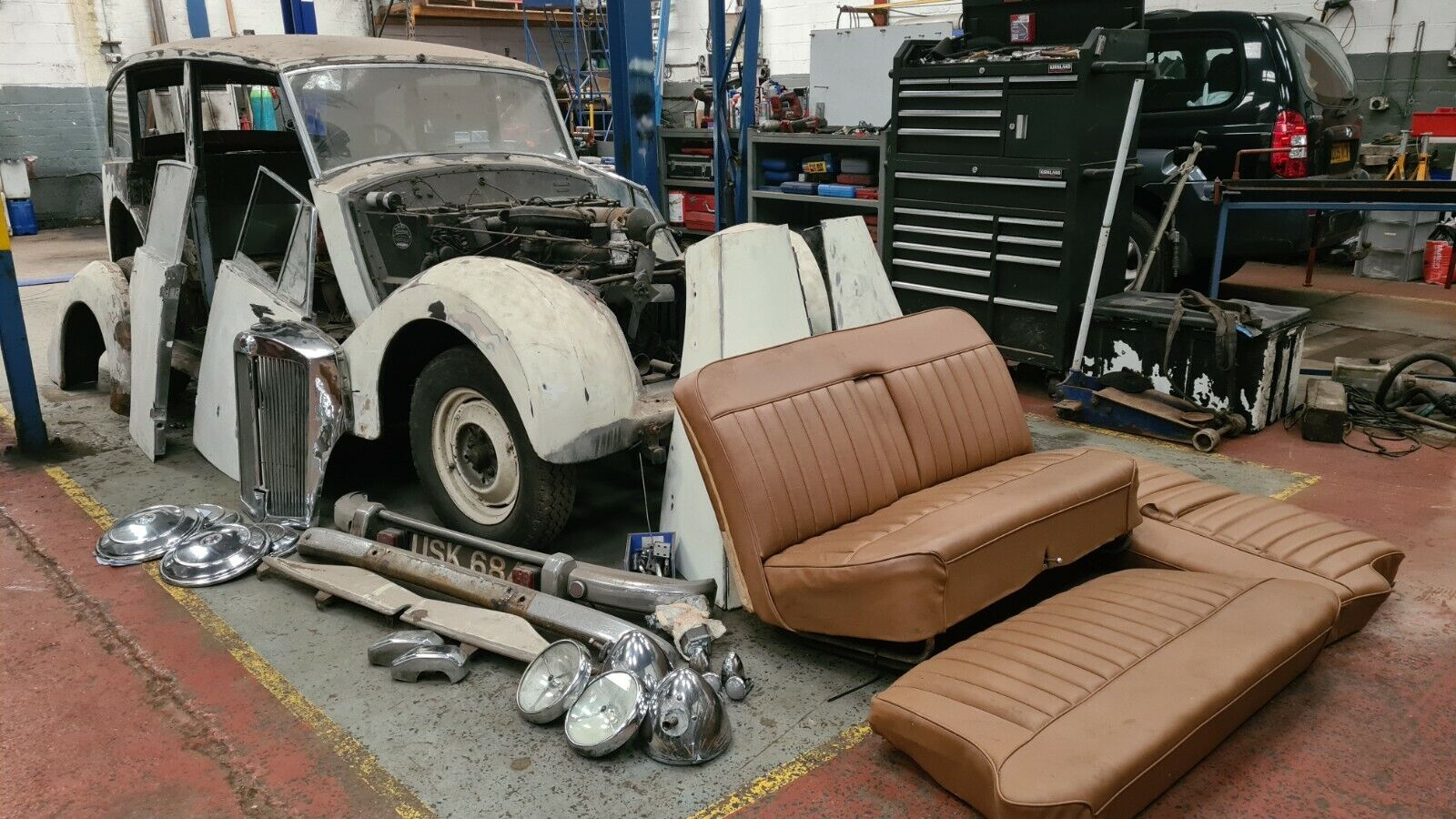 Triumph Renown dry stored
