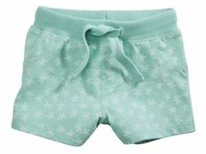 Lupilu Baby Kinder Jungen Mädchen Shorts Mint Grün Sterne 62//68 Gr