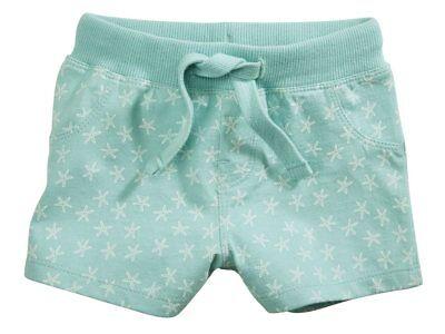 86//92 Gr Lupilu Mädchen Baby Jumpsuit Gestreift Weiß Grün Mint