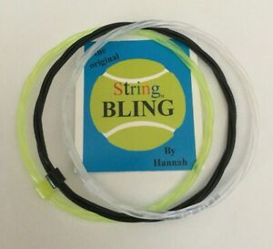 Lot 3 New Handmade In Usa-tennis Bracelet Wear/bracelets De Raquette De Tennis String-afficher Le Titre D'origine