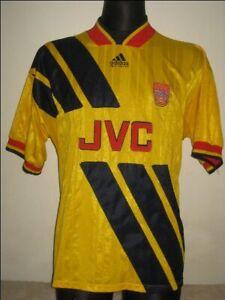 1993-94 Arsenal Away Adidas Excellent (L) Shirt Jersey Trikot Camiseta Maglia