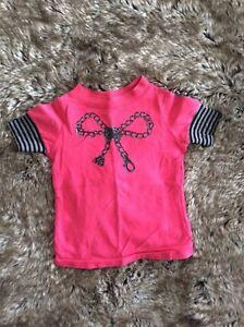 MISS-SIXTY-Designer-Pink-Slim-Fit-T-shirt-2-years