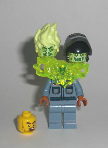 Figur Minifigur Mechaniker Geist Ghost 70428 LEGO Hidden Side Scott Francis
