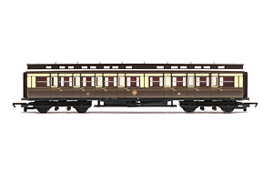 Hornby-R4899-OO-Gauge-GWR-Clerestory-Corr-Composite-Coach-1609