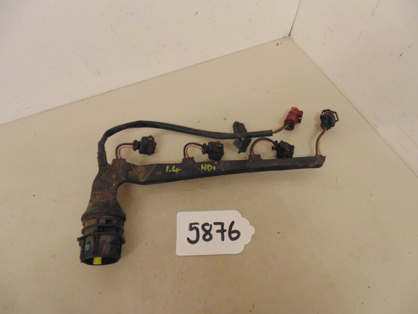 2005 Peugeot 307 14 Hdi Diesel Injector Wiring Loom 9638163180 8hx 206 Norton Secured Powered By Verisign