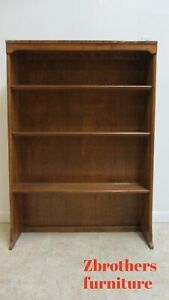 ETHAN-ALLEN-Maple-Custom-Room-Plan-CRP-Hutch-Top-Book-Shelf-Display-34-034