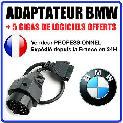 Adaptateur Obd2 20 Broches Vers 16 Pour Bmw E30 E34 E36 E46 E39 - Connecteur Bmw Moderno Ed Elegante Nella Moda