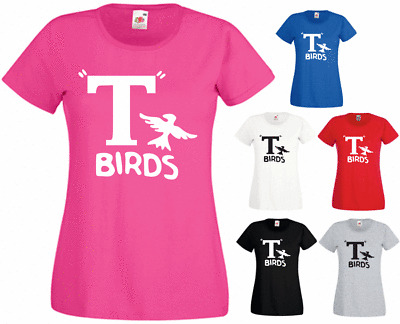 T Birds Grease New Funny Birthday Gift T-shirt