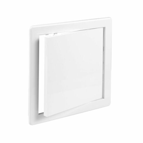 Blanc Accès Panneau 250mm x Plastique Révision Porte Rabat Trappe Ventilation