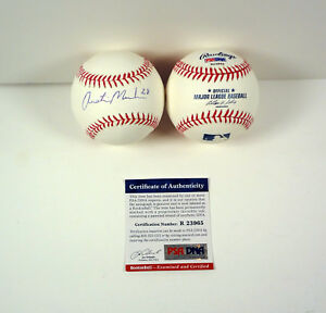Austin-Meadows-Pittsburgh-Pirates-Signed-Autograph-MLB-Baseball-PSA-DNA-COA