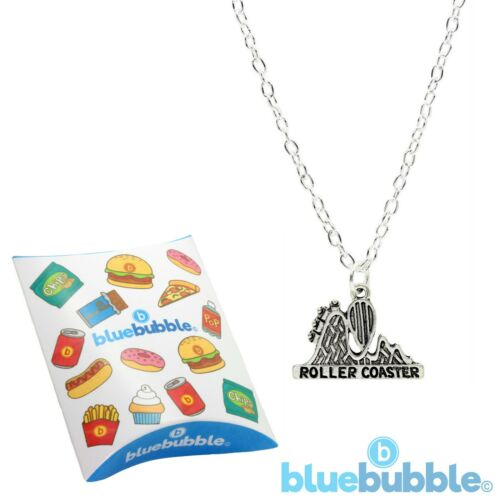 Bluebubble FUN FAIR Necklace Funky Cute Kitsch Retro Novelty Thrillseeker Scary