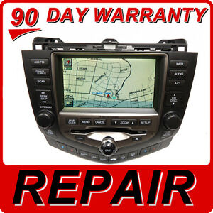 REPAIR-SERVICE-for-HONDA-Accord-Navigation-GPS-System-6-Disc-Changer-CD-Player