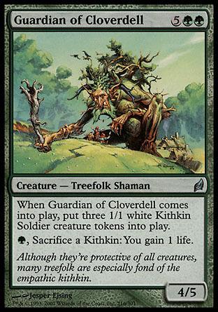 4x Guardian of Cloverdell Lorwyn MtG Magic Green Uncommon 4 x4 Card Cards