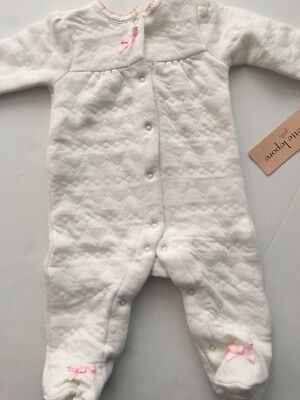Aden by Aden /& Anais Baby Girl Muslin Coverall Sleeper Size 6-9 Months Pink