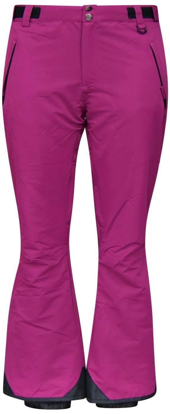 New Snow Country Outerwear Women's 1X 2X 3X 4X 5X 6X Plus Size Ski Pants Berry