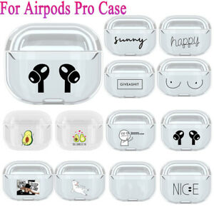 Case-Cover-Clear-PC-Cartoon-Pattern-Protective-For-Apple-Airpods-Pro-Airpod-3