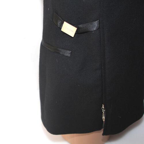Vergine 44 Gianfranco Lana Nera Giacca Cashmere Donna Nero Pura Jeans Ferrè wXRPPY8z
