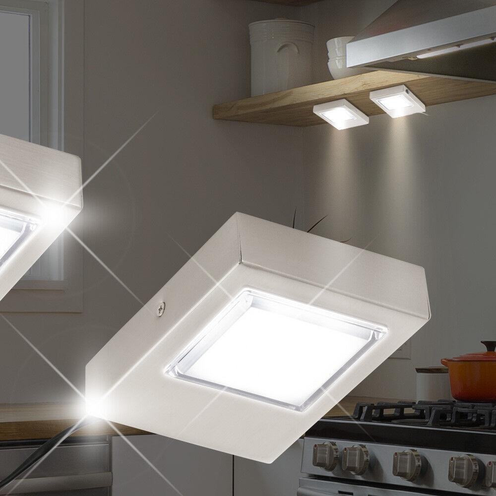 MIA LED 2x ↔100mm  Silber  Lampe Möbellampe Möbelleuchte Unterbaulampe Unterbaul | Der neueste Stil  | Zuverlässiger Ruf  | Einfach zu bedienen