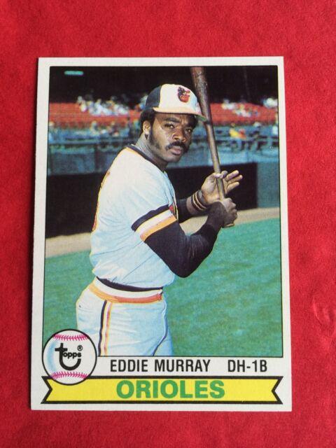 1979 Topps Eddie Murray Baltimore Orioles 640 Baseball Card