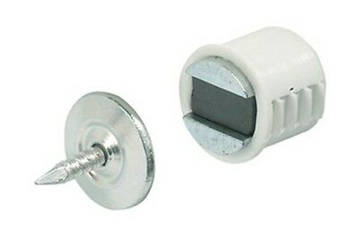 Neueste Kollektion Von Magnetschnapper Einbohrmagnet Magnetverschluss Möbelmagnet 2-3 Kg Türmagnet 12mm Eine GroßE Auswahl An Farben Und Designs