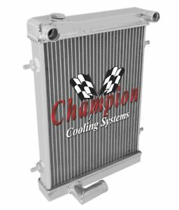 1979 1980 TRIUMPH SPITFIRE 2 Row Champion RR Radiator EC7980
