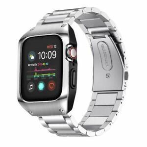 Iwatch Series 5 4 Band Stainless Steel Apple Watch 44mm Case Bracelet Luxury New 804072445536 Ebay
