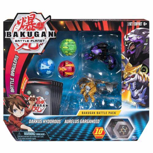 Bakugan Battle Pack Darkus hydorous et aurelus garganoid