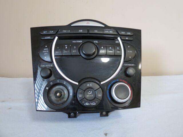 04 05 06 07 08 Mazda Rx8 Radio Cd Tape Player Climate Control Rhebay: Mazda 6 2007 Radio Cd Player And Interior Dash Trims Ebay At Gmaili.net