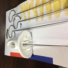 Potato Spiral Cutter Slicer 4-Spits Chips Maker Twist Shredder Kitchen Gadget