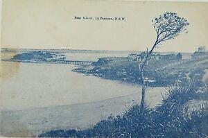 SYDNEY-BEAR-ISLAND-LA-PEROUSE-NEW-SOUTH-WALES-EARLY-1900s-POSTCARD